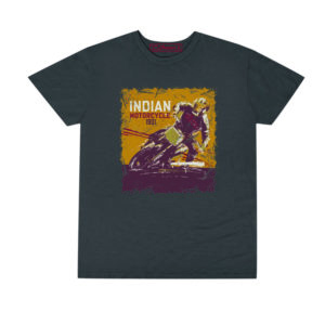 INDIAN MENS ADVENTURE TEE GRAY