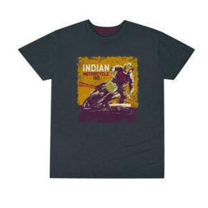 INDIAN MENS ADVENTURE TEE GRAY