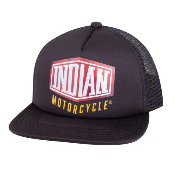 INDIAN CAMO TRUCKER HAT