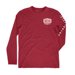 INDIAN LS SHIELD LOGO TEE