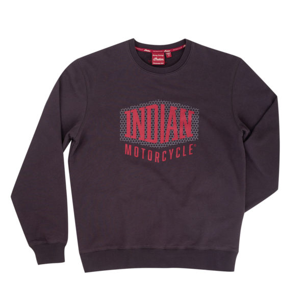 INDIAN MENS SHIELD LOGO SWEAT