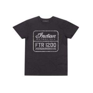 INDIAN MENS 1200 LOGO TEE BLK