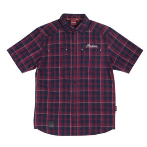 INDIAN MENS PLAID SHIRT RED