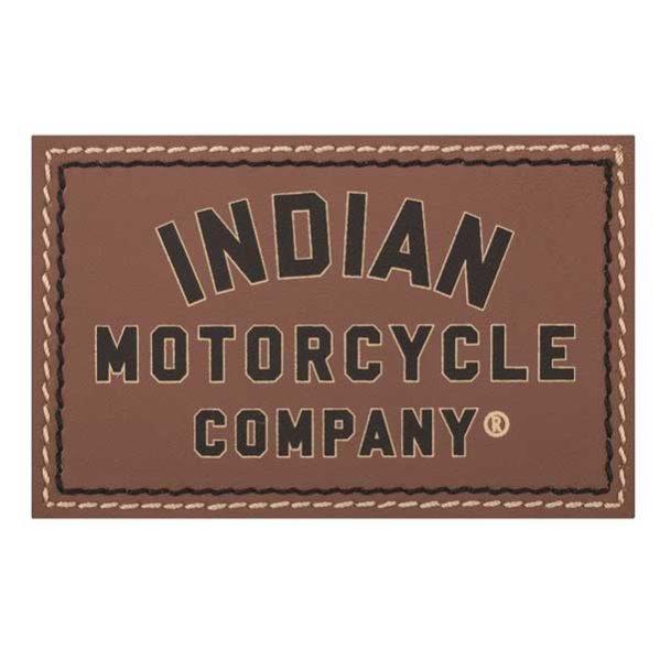 INDIAN IMC LEDER-PATCH