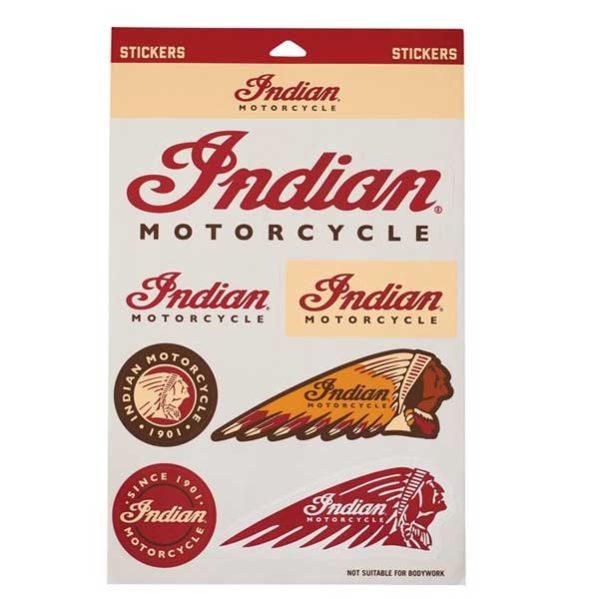 INDIAN MOTORCYCLE® STICKER SET